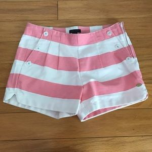 Tommy Hilfiger Girl's  Sailor Striped Shorts